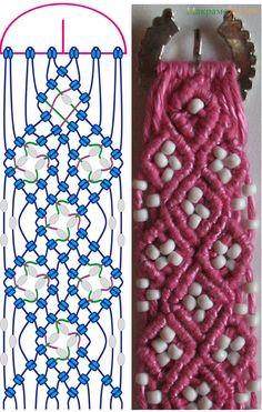 This is a fun macramé pattern. I like the belt.