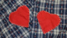 #Valentine's Day #Fashion #DIY : Heart Elbow Patches