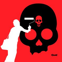 #Street by #krane #skull #graffiti #street-art Graffiti, Street Art, Darth Vader, Skull, Movies, Movie Posters, Fictional Characters, Films, Film Poster