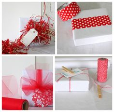 4 DIY Creative Wrapping Ideas with Kraft Paper