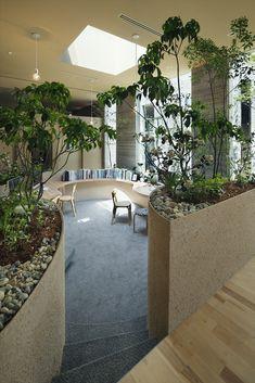 Modern dental clinic in Japan Office Interior Design, Home Office Decor, Office Interiors, Casa Hotel, Pinterest Room Decor, Passive Design, Clinic Design, Solar House, Garden Office