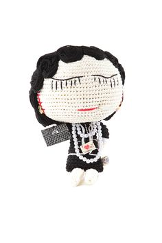 this is supposed to be Coco Chanel. i would do Frida Kahlo.