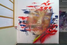 Work by Adnate at the Paterson Project