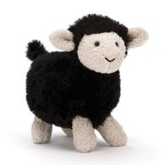 This is the brand new Spring 2014 Farm Friends Black Sheep. Size: 12cm (4.75ins) . Price: £7.95 (GBP).