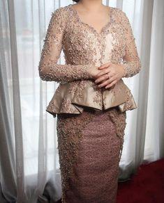 Kebaya Peplum, Kebaya Lace, Batik Kebaya, Batik Dress, Kimono Dress, Lace Dress, Kebaya Muslim, Kebaya Modern Dress, Hijab Dress Party