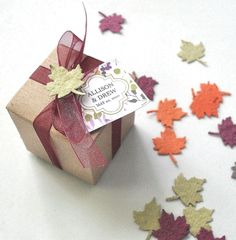 Fall Wedding Favors Seeded Party Favors   Set of by naturefavors, $99.95
