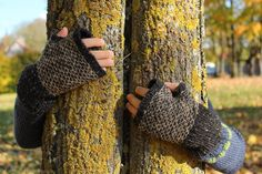 Knitting, occasional crochet. Katrine Birkenwasser designs and finished objects from other knitting projects.