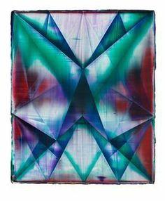 Rhombus (Bleed), 2013, by Shannon Finley