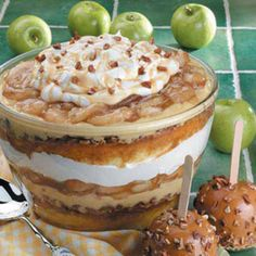 Caramel Apple Trifle - no words can describe how good this is!!