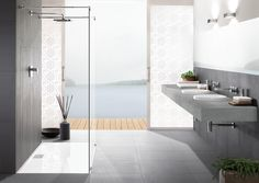 Just beautiful! The Architectura system concept from Villeroy & Boch caters particularly for the special requirements of installers, #planners and international #architects.