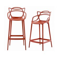 Masters Stool Polypropylene Structure Stool High Design by Kartell Online Sales