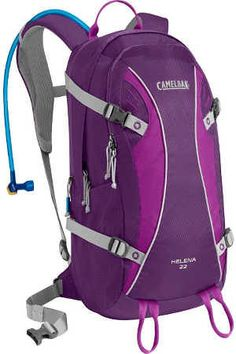 Camelbak Products Women's Helena 22 Hydration Pack, Imperial Purple/Electric Purple, -- You can find out more details at the link of the image. Backpacking Hammock, Backpacking Gear, Camping Gear, Camping Hacks, Nylons, Mykonos Blue, Hydration Pack, Day Bag, Day Hike