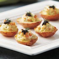 My Mom's Twice Baked Potato Boats (Fancy Version) Recipe — Dishmaps