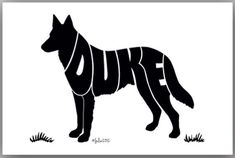 German Shepherd 7 x 5 or larger by CreativeImageDesign on Etsy, $18.00