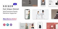Sober - WooCommerce WordPress Theme Brand Guidelines Template, Thumbnail Design, Cosmetic Shop, Men Store, Instagram Widget, Creative Portfolio, Shop Layout, Premium Wordpress Themes