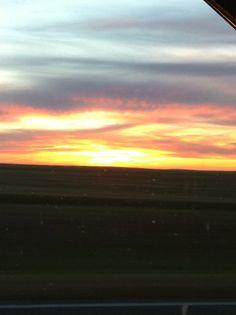 Sunset in Lubbock