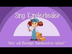Wer will fleißige Handwerker sehn - Kinderlieder zum Mitsingen | Sing Kinderlieder - YouTube