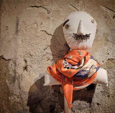 rumisu silk scarf expedition africa illustrated by deniz yegin ikiisik on hand made rumisu doll display