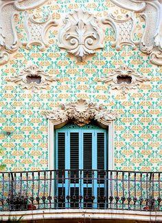 Casa Antoni Pàmies, Arquitecte. Melcior Viñals i Muñoz, Barcelona, C/Enric Granados 5 c 1