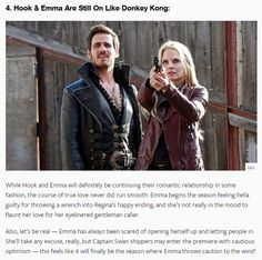 What to expect from season 4 episode 1 -Emma and Hook - #CaptainSwan