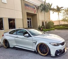 We just got in this amazing 2015 BMW M4 with @accuair Suspension and an @vorsteiner carbon fiber wide body sitting on @adv1 wheels!! Stay tuned for more photos!  #BMW #M4 #Vorsteiner #AccuAir #ADV1 #DrivingEmotions @drivingemotions (at Driving...