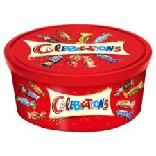 Celebrations Tub 650g Celebration Chocolate Tesco