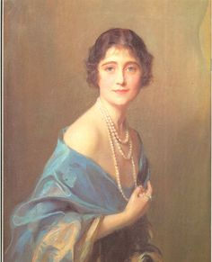 I envisioned Letty Ashford in BLIND FORTUNE as looking like Lady Elizabeth Bowes-Lyon (the Queen Mum).
