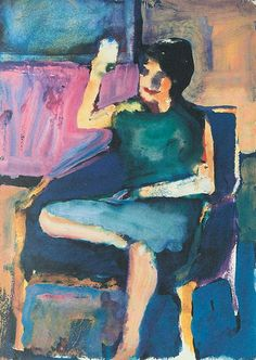 Richard Diebenkorn, Untitled, gouache on paper                                                                                                                                                                                 More