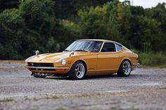 "My friend called me, saying ""You have to buy this car."" We drove about two hours up the road at 9pm. When I first saw it, I liked the uniqueness of the color and the fact that it was a first-year 240Z. The guy I bought it from was actually the original owner. The Datsun had 69,000 miles and was bone stock, I've done everything to this car minus painting it."
