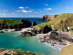 Photo about Kynance Cove on the Lizard Peninsula Cornwall England UK. Image of summer, picturesque, outdoors - 27488312 Kynance Cove Cornwall, Hidden Beach, Cornwall England, West Cornwall, England Uk, Walking Tour, Holiday Destinations, Campsite, Strand