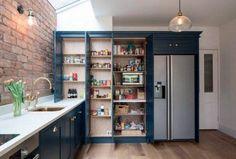 Kitchen Remodel No Upper Cabinets . Kitchen Remodel No Upper Cabinets . Kitchen Pantry Storage Cabinet, Diy Kitchen Shelves, Kitchen Wall Cabinets, Kitchen Flooring, Upper Cabinets, Wall Pantry, Farmhouse Cabinets, Storage Cabinets, Open Pantry
