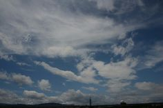 Blue sky and white cloud bring our environment look happiness!