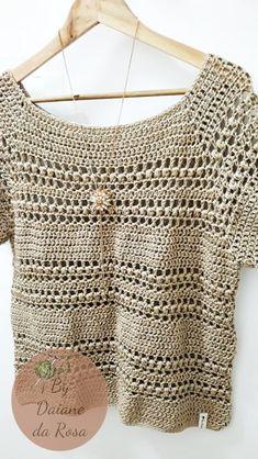 Modern Crochet patterns by MeluCrochet on Etsy Débardeurs Au Crochet, Crochet Woman, Easy Crochet, Crochet Cardigan Pattern, Crochet Blouse, Handgestrickte Pullover, Modern Crochet Patterns, Black Crochet Dress, Crochet Summer Tops