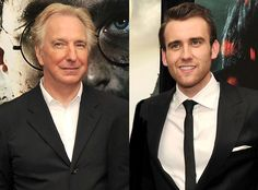 """Harry Potter's Matthew Lewis Revisits """"Surreal"""" Day Alan Rickman Died as Details of His Will Emerge"""
