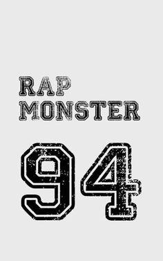 #KimNamjoon #RapMonster #BTS #BangtanBoys #ARMY