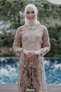 29+ Model Kebaya Modern Terbaru 2019 (Brokat, Kutu Baru, Bali, dll)