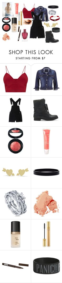 """""""Rikki #54"""" by kei-lily-amethyst on Polyvore featuring maurices, Laura Geller, Lancôme, Jennifer Meyer Jewelry, L. Erickson, BERRICLE, Bobbi Brown Cosmetics, Too Faced Cosmetics, Yves Saint Laurent and Isadora"""