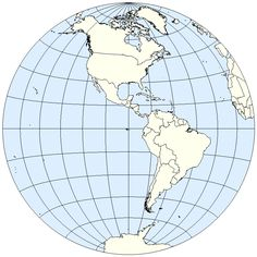 Blank Western Hemisphere Map | Blank Western Hemisphere Map This Is Your  Index.html Page
