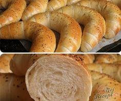 Pampeliškový med s přídavkem třtinového cukru Croissant Bread, Pizza Dough, Bagel, Scones, Bread Recipes, Sausage, Food And Drink, Snacks, Baking