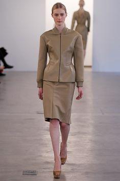 Calvin Klein Collection Pre-Fall 2012 Fashion Show - Julia Nobis