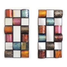 Multi Half Cones Wall Decor