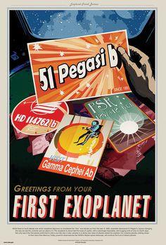 Nightlife Never Ends Multi Size NASA Exoplanet Travel Bureau PSO J318.5-22