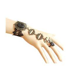 Lace Bracelet, Bracelets, Hand Henna, Gothic Fashion, Hand Tattoos, Amazon, Girls, Style, Toddler Girls