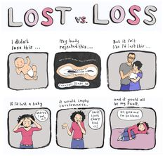 miscarriage grief and 7 other grief comics