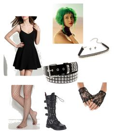 """""""Ramona flowers final battle cosplay"""" by shea-and-tori on Polyvore featuring Demonia"""