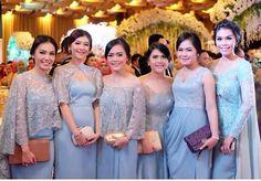 Batik Dress, Lace Dress, Wedding Dinner Dress, Dress Brokat, Bridesmaid Dresses, Wedding Dresses, Bridesmaids, Muslim Dress, Kebaya