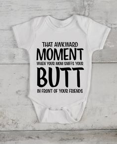 Funny Baby Clothes, Baby Kids Clothes, Funny Babies, Cute Babies, Funny Baby Shirts, Funny Baby Sayings, Funny Baby Boy Onesies, Cute Baby Stuff, Funny Onesie