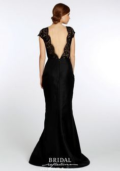 Noir By Lazaro | Bridesmaids Dresses | NY 3378 Back