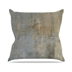 Overlooked by CarolLynn Tice Throw Pillow
