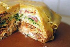 A 12-Layer Lasagna Pie Recipe From 'The Food in My Beard'